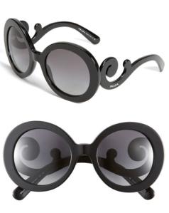 Prada Minimal Baroque Sunglasses