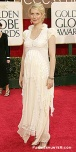 Pregnant in Balenciaga at the 2006 Golden Globes