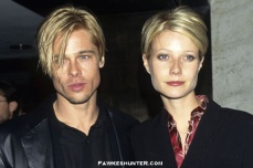 Twinsies Hairstyles with then Boyfriend Brad Pitt