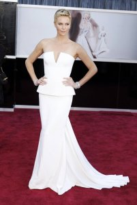 Charlize Theron in Dior Oscars 2013