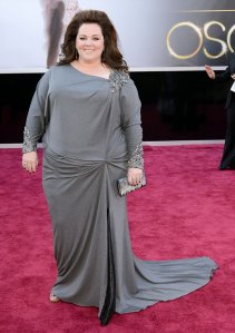 Melissa McCarthy in David Meister Oscars 2013