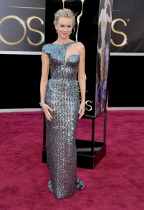 Naomi Watts in Armani Prive Oscars 2013