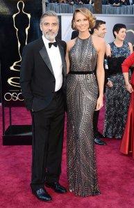 Stacy Keibler in Naeem Kahn Oscars 2013