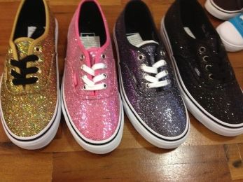 Keep the festival spirit with glitter shoes