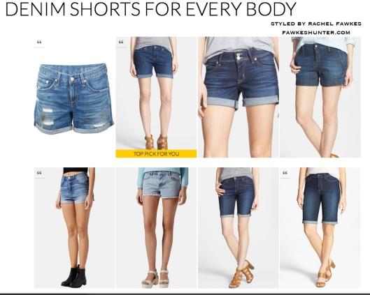 Denim Shorts for Every Body