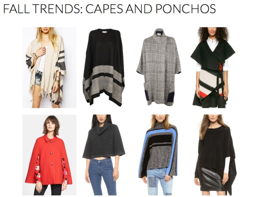 Capes and Ponchos - Fall 2014 Trends - Rachel Fawkes San Francisco Fashion Stylist