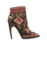 Emilio Pucci Suede Embroidered Ankle Boot - Fally 2014 Fashion Trends - Rachel Fawkes San Francisco Fashion Stylist