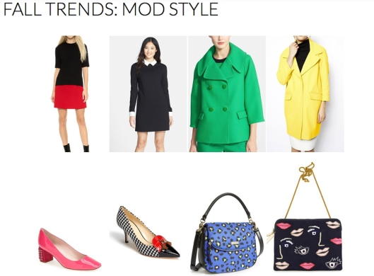 Mod Style - Fall 2014 Trends - Rachel Fawkes San Francisco Fashion Stylist