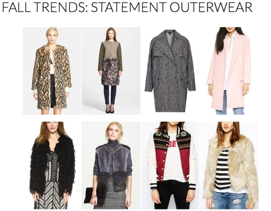 Statement Outerwear - Fall 2014 Trends - Rachel Fawkes San Francisco Fashion Stylist