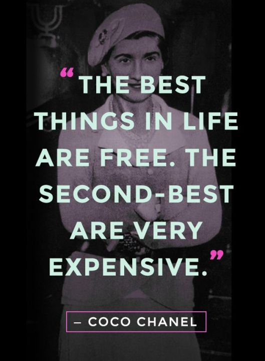 Coco Chanel Quotes - Rachel Fawkes Style Expert