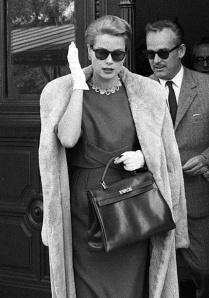 Grace Kelly - Hermes Kelly Bag - Rachel Fawkes Bay Area Wardrobe Stylist