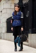 Belted Puffer Vest - Rachel Fawkes San Francisco Fashion Stylist