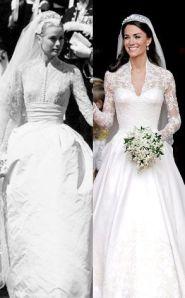 Grace Kelly vs. Kate Middleton Wedding Dresses - Rachel Fawkes Bay Area Wardrobe Stylist