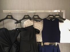 Black, White and Navy Options.