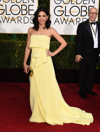 Jenna Dewan Tatum_Carolina Herrera_Golden Globes 2015_Rachel Fawkes San Francisco Fashion Stylist