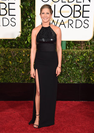 Jennifer Aniston_Saint Laurent_Golden Globes 2015_Rachel Fawkes San Francisco Fashion Stylist