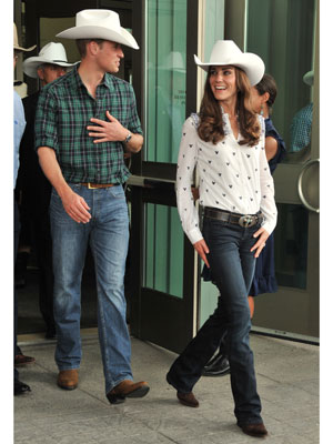 Kate Middleton in a Cowboy Hat - Rachel Fawkes San Francisco Fashion Stylist