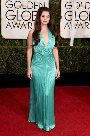 Lana Del Rey_Travilla_Golden Globes 2015_Rachel Fawkes San Francisco Fashion Stylist