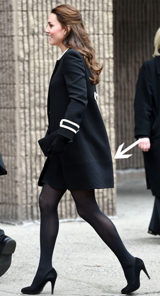 Lengthen a Coat like Kate Middleton-Rachel Fawkes San Francisco Fashion Stylist