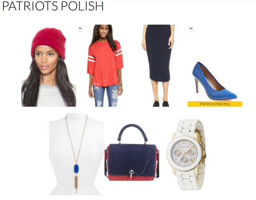 New England Patriots Inspired Fashion-Rachel Fawkes San Francisco Fashion Stylist