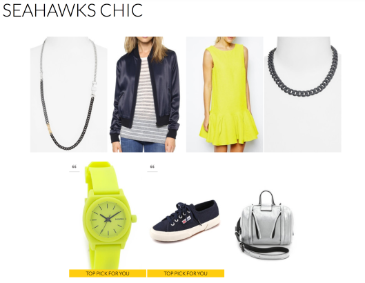 Seattle Seahawks-Rachel Fawkes San Francisco Fashion Stylist