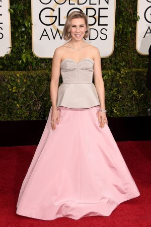 Zosia Mamet_Andrew Gn_Golden Globes 2015_Rachel Fawkes San Francisco Fashion Stylist