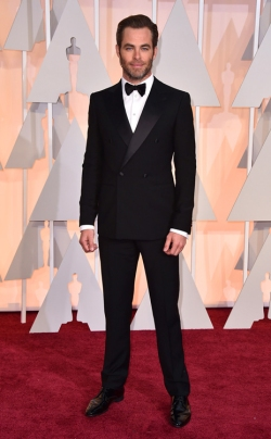 Chris Pine_Giorgio Armani_Oscars 2015_Rachel Fawkes San Francisco Fashion Stylist