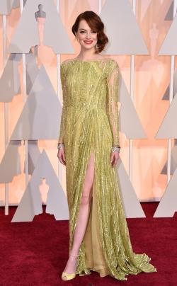 Emma Stone_Elie Saab_Oscars 2015_Rachel Fawkes San Francisco Fashion Stylist