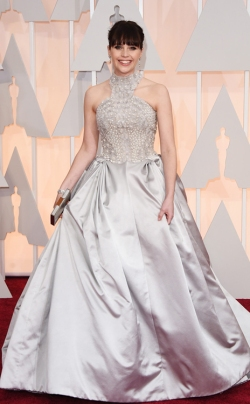 Felicity Jones_Alexander McQueen_Oscars 2015_Rachel Fawkes San Francisco Fashion Stylist