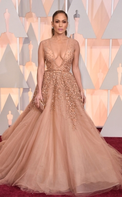 Jennifer Lopez_Elie Saab_Oscars 2015_Rachel Fawkes San Francisco Fashion Stylist