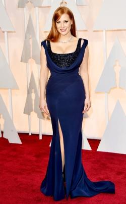 Jessica Chastain_Givenchy_Oscars 2015_Rachel Fawkes San Francisco Fashion Stylist