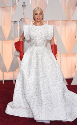 Lady Gaga_Alaia_Oscars 2015_Rachel Fawkes San Francisco Fashion Stylist