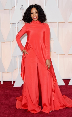 Solange Knowles_Christian Siriano_Oscars 2015_Rachel Fawkes San Francisco Fashion Stylist